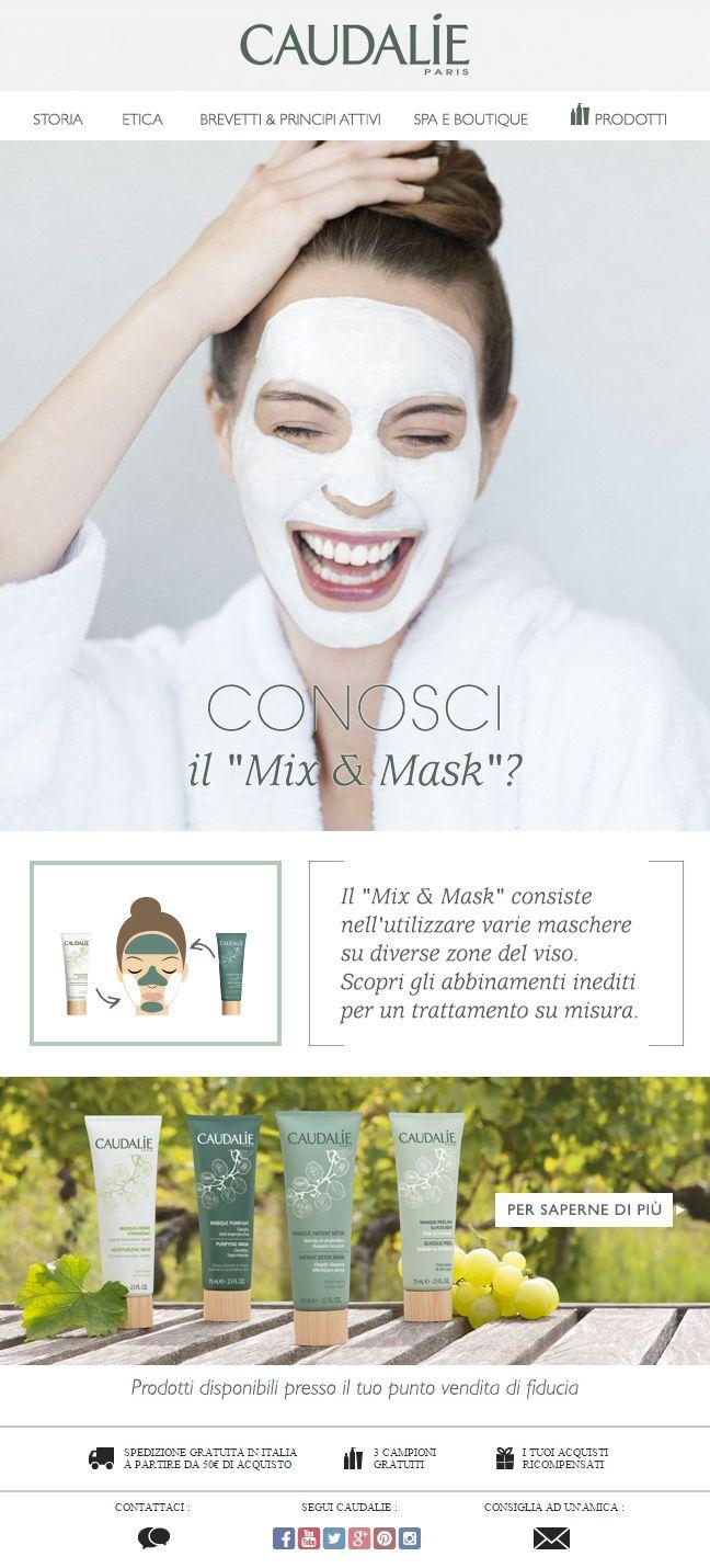 Caudalie   La tua maschera su misura