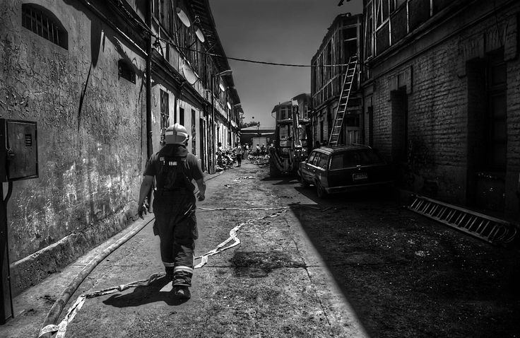 Incendio en Santiago. by Manuel Alejandro Venegas Bonilla on 500px