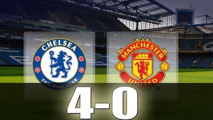 Chelsea vs Manchester United 4-0 - All Goals & Extended ...