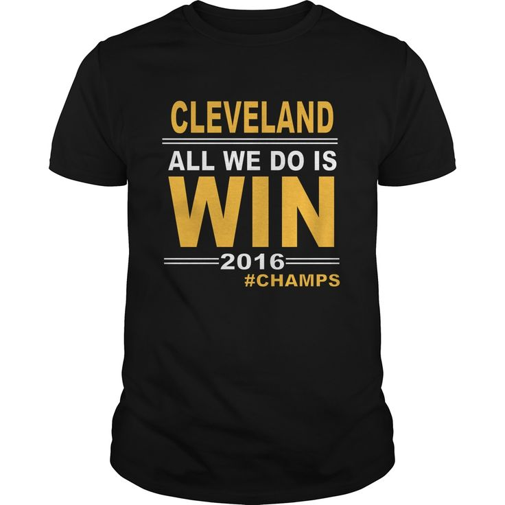 Cleveland Baseball Basketball Champs All We Do Is Win Gold Sports Fan Gear
