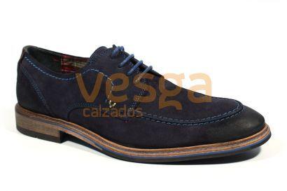 Martinelli Garden 321-2183S Zapatos Vestir Hombres Azul