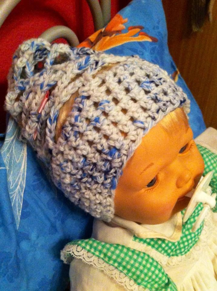 Funky beanie for babies!