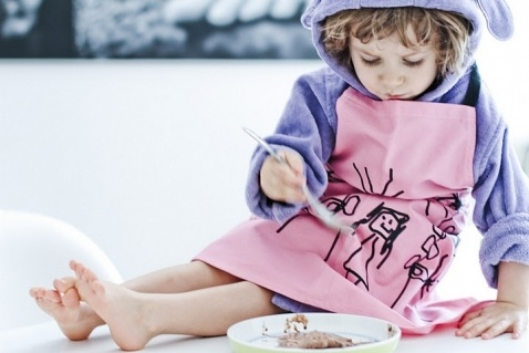 apron for children _ projekt: Kafti