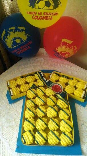 Cupcakes seleccion colombia