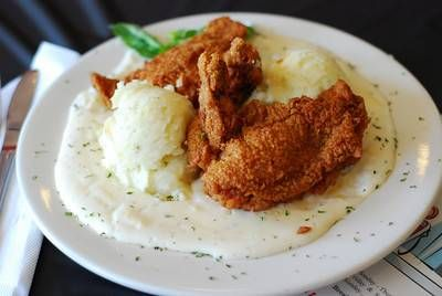 Better-Than-Sex-Fried Chicken  Better Than Sex Chicken - best fried chicken in ft. worthBetter-Than-Sex-Fried Chicken: old fashioned buttermilk marinated, flour coated, tender crispy fried chicken served with mashed potatoes and gravy. This rates at the best fried chicken in Ft. Worth.