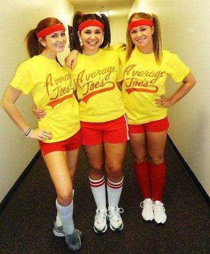 Group Costumes | Average Joe's Dodgeball movie, adorbs!