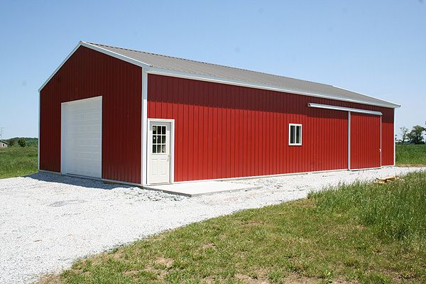 Pole Buildings 30 X 60 Pole Barn Customer Projects
