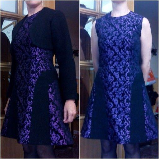 Confeccion vestido y torera abril 2014