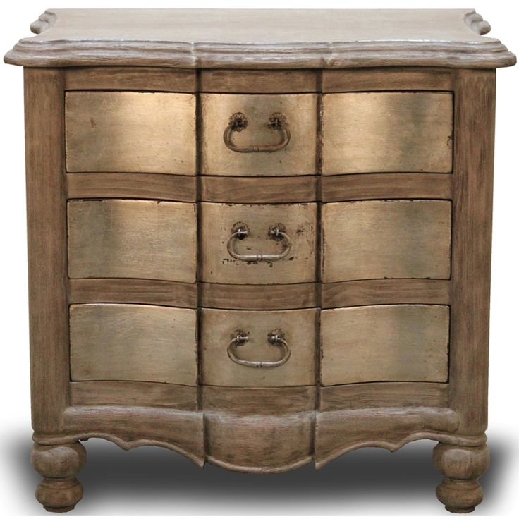 Furniture :: Accent Tables :: Curved Patina Side Chest