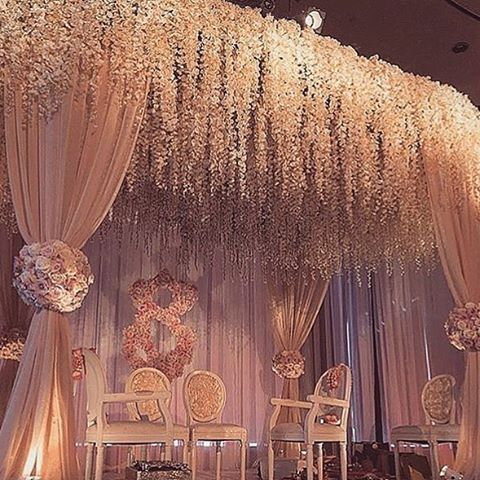 Best 25 indian wedding stage ideas on pinterest wedding for Background decoration for indian wedding