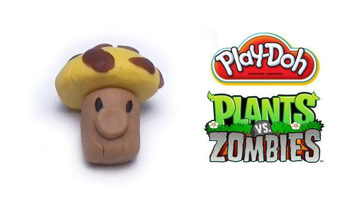 Play-Doh Plants vs Zombies Garden Warfare Sun-shroom from Plants vs Zomb...