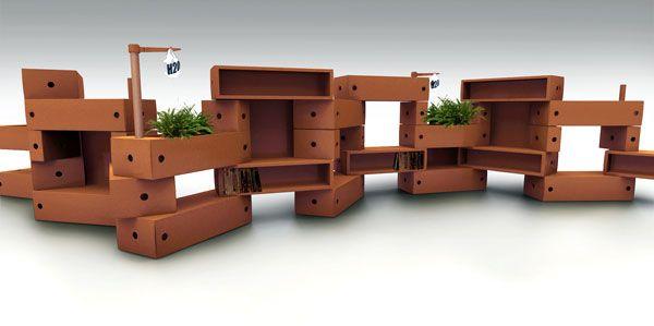 """""""Mattoni"""" by Giorgio Caporaso - LESSMORE® visit www.lessmore.it"""