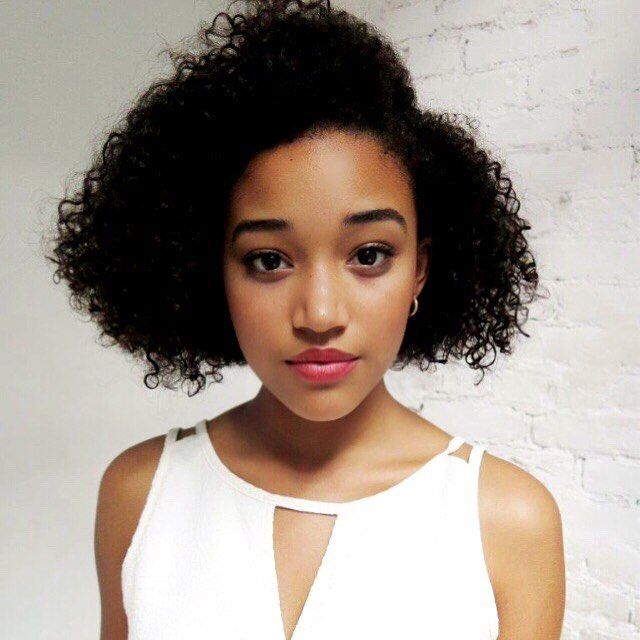 Character Inspiration for Piper Anderson of 'They Are the Last'.  (Pictured: Amandla Stenberg)