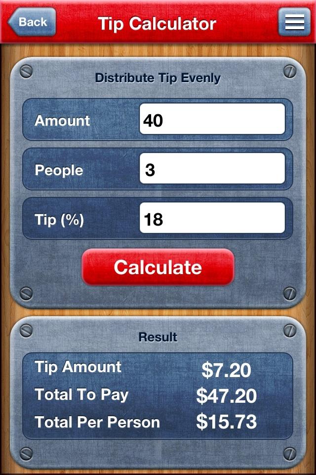 7 in 1: Percentage Calculator