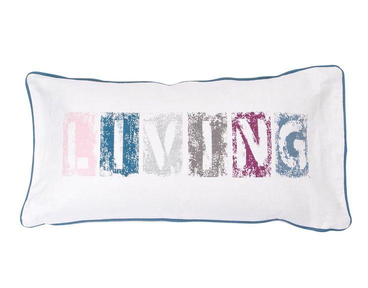 Sierkussen Living 101: voor een frisse look. #words #101woonideeen #leenbakker