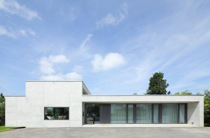 Modernistyczne domy od Schenker Salvi Weber
