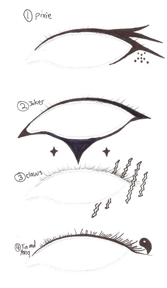 unique eyeliner designs - Google Search