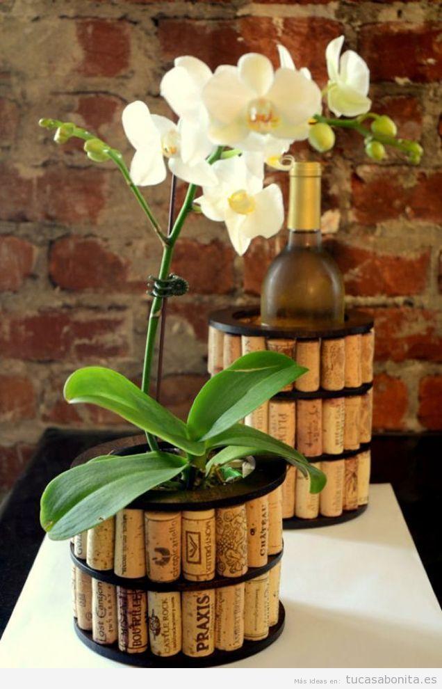 Tutorial jarrones y maceteros DIY para decorar tu casa o piso 3