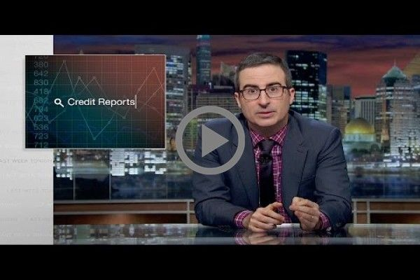 John Oliver Destroys Credit Reporting Agencies In His Greatest Prank Yet: 'Those F*ckers Are Evil'  #credit #reports: #last #week #tonight #john #oliver #hbo