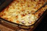 Macaronischotel met ham en kaas