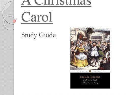 A Christmas Carol Study Guide - Home   DRAA
