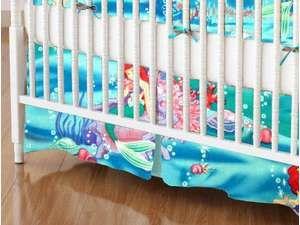 Crib Skirt Little Mermaid