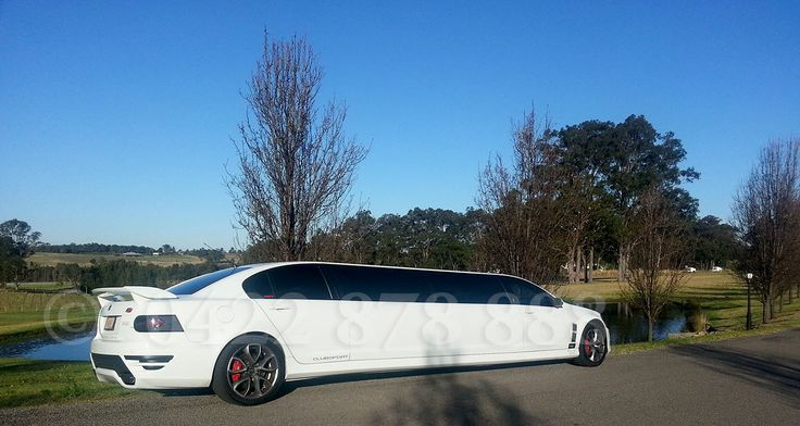 Formal limousine hire Hunter Valley