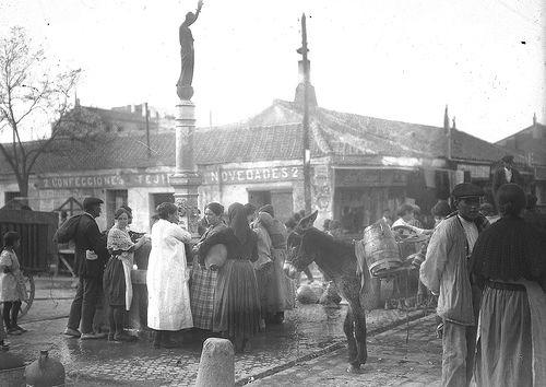 Vallecas, comienzos del siglo XX. (Imagen Vallecas Todo Cultura)