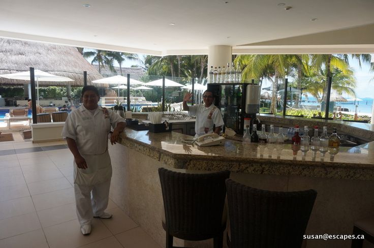Isla Mujeres Palace. Hola, how about a cold drink?