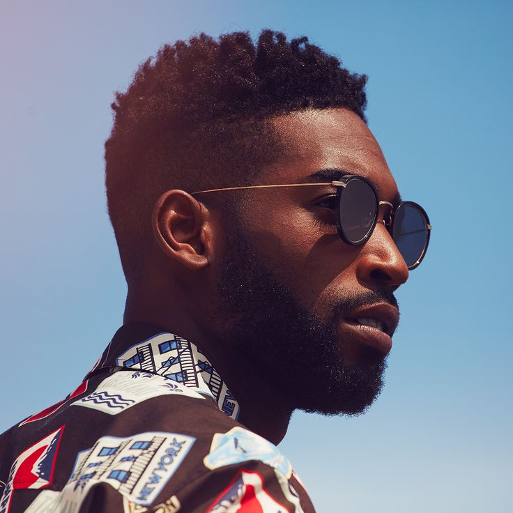 UK rapper Tinie Tempah for MR PORTER.