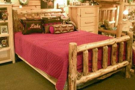 Standard Pine Log Bed Kit- about $400