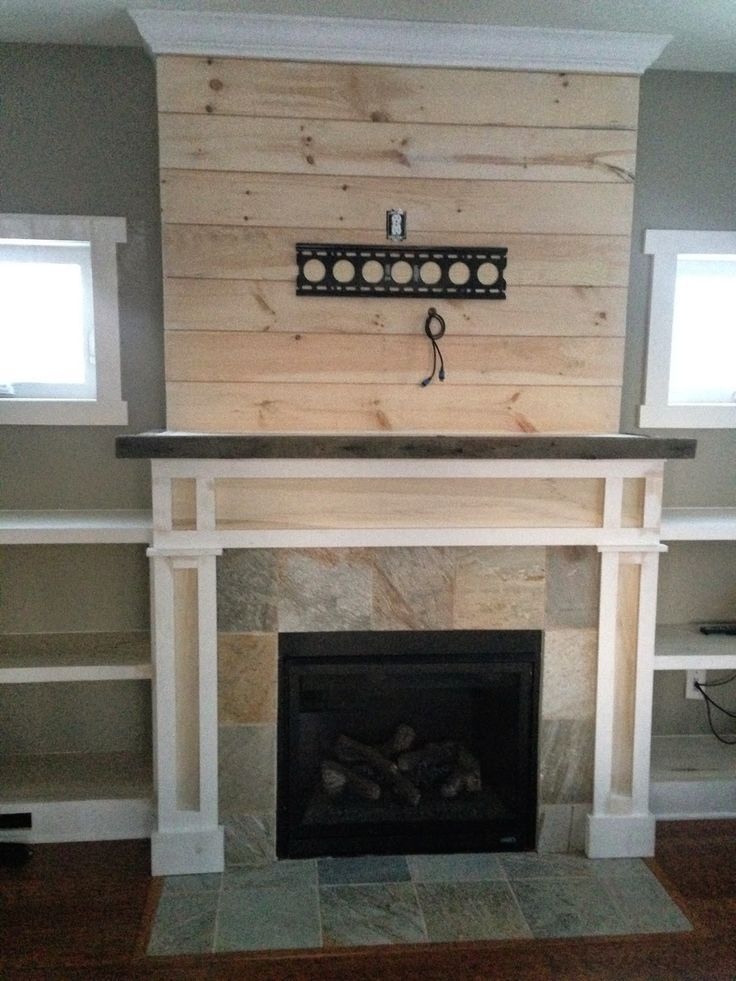 Gas Fireplace Remodel Before And After