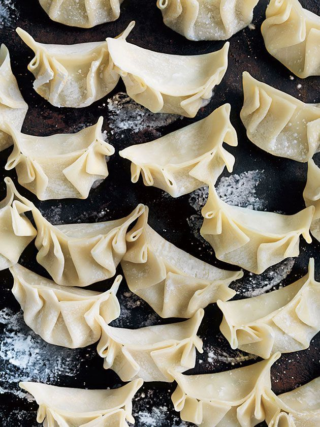 Deliciously light asian-style prawn dumplings - ready to steam!