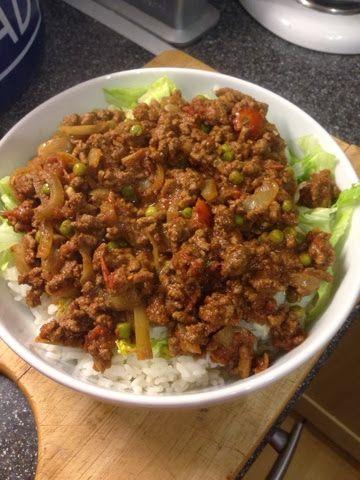 Vicki-Kitchen: Kheema curry (slimming world friendly)