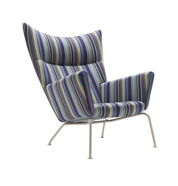 Paul Smith + Maharam + Carl Hansen & Søn = Magic. New limited edition furniture collection on Hans Wegner's most iconic work.