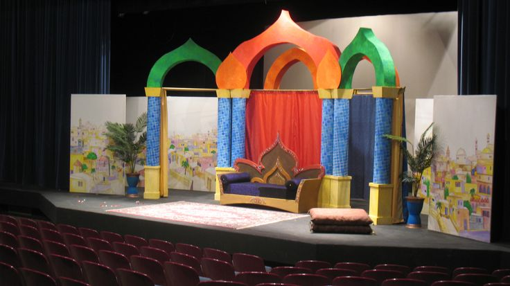 Aladdin set design google search fiestas pinterest - Decoracion marruecos ...