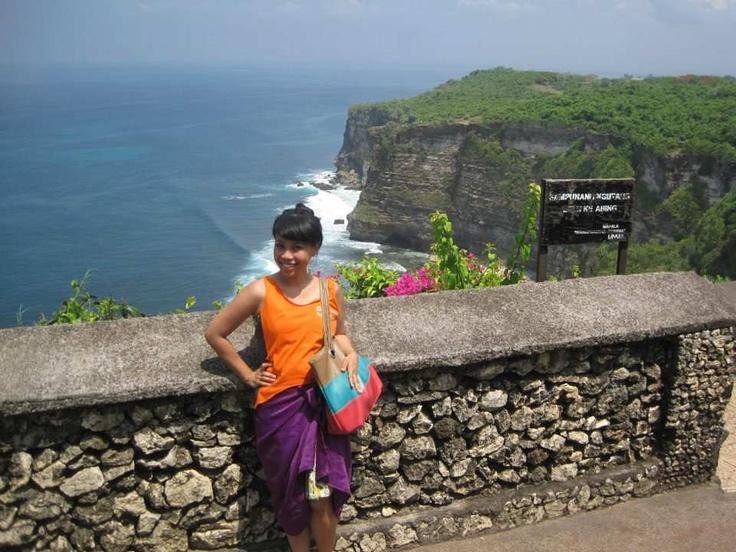 at Uluwatu, Bali - Indonesia