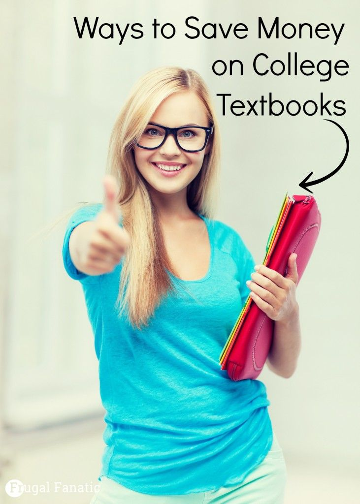 Are you going back to school or have a child going to college? Here are 5 ways that you can save money on college textbooks #savemoney #college #textbooks