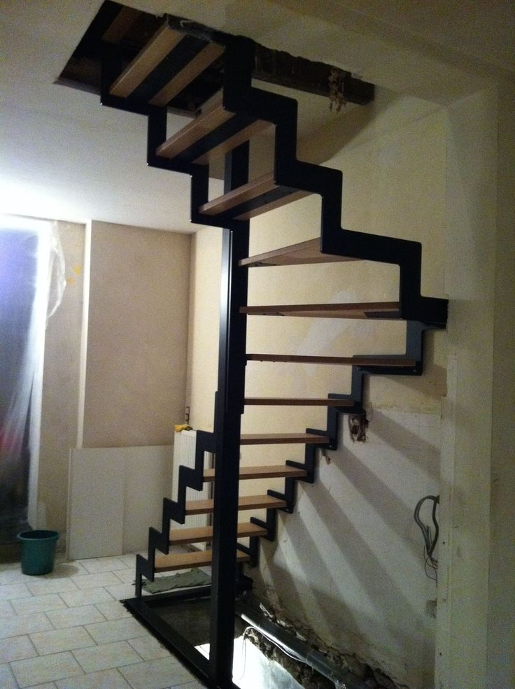 25 best ideas about escalier 1 4 tournant on pinterest. Black Bedroom Furniture Sets. Home Design Ideas