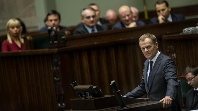 Sejm udzielił wotum zaufania rządowi PO-PSL. Głosowało 452, za 233, przeciw 219.
