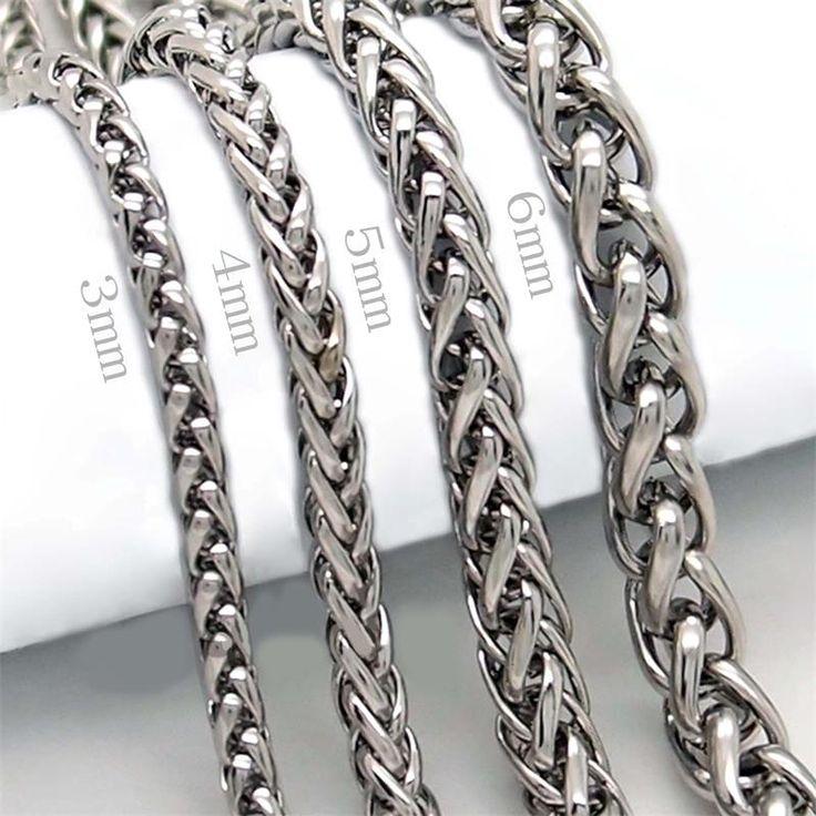 Aliexpress.com: Comprar Los nuevos hombres de plata Punk acero inoxidable pulsera de cadena Wristband del brazalete joyería caliente de brazalete de la pulsera de la joyería fiable proveedores en Erop Store