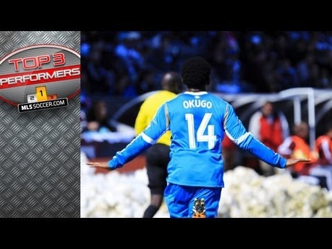 FOOTBALL -  Top 3 MLS Performers: Week 2 - Amobi Okugo, Patrice Bernier, Robert Earnshaw - http://lefootball.fr/top-3-mls-performers-week-2-amobi-okugo-patrice-bernier-robert-earnshaw/