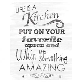 Life Is a Kitchen Wall Decor