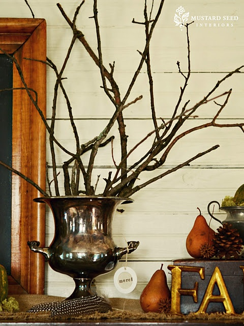 Thanksgiving table-love the FALL letters too!: Decor Ideas, Thanksgiving Mantles, Fall Decor, Fall Table, Thanksgiving Decor, Fall Mantles, Thanksgiving Tables, Fall Arrangements, Fall Branches