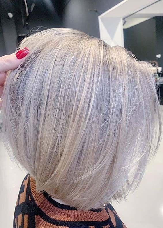 Adorable Bob Hairstyles With Blonde Shades For Women 2020 Bob Hairstyles Hair Styles Messy Bob Hairstyles