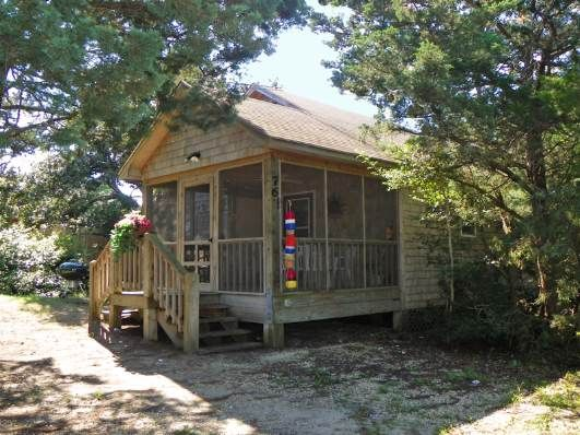 Off the beaten path a 2 bedroom rental house in ocracoke for Ocracoke cabin rentals