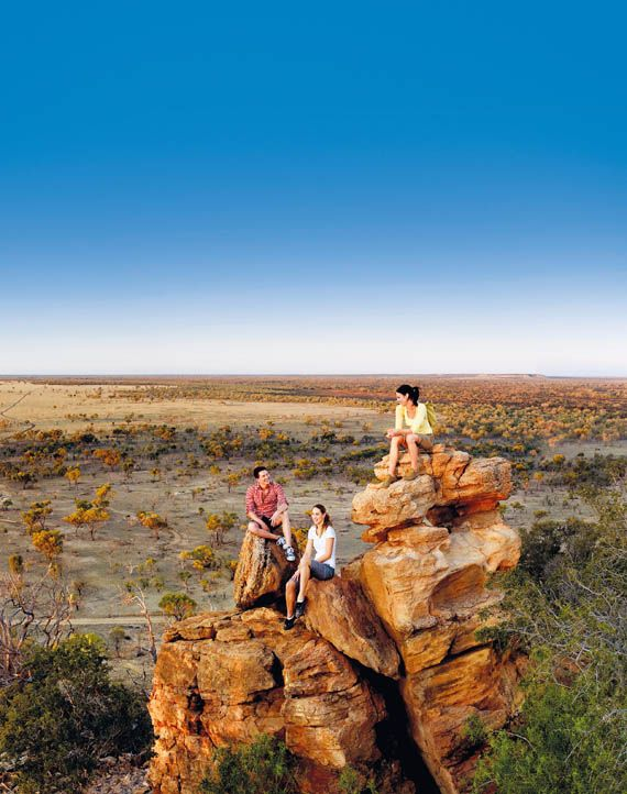 Starlight's Lookout, Outback Queensland