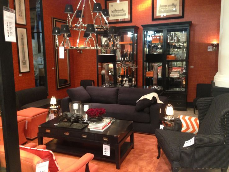 Hermes orange denise grant eichholtz maison et objet for Decoration maison orange