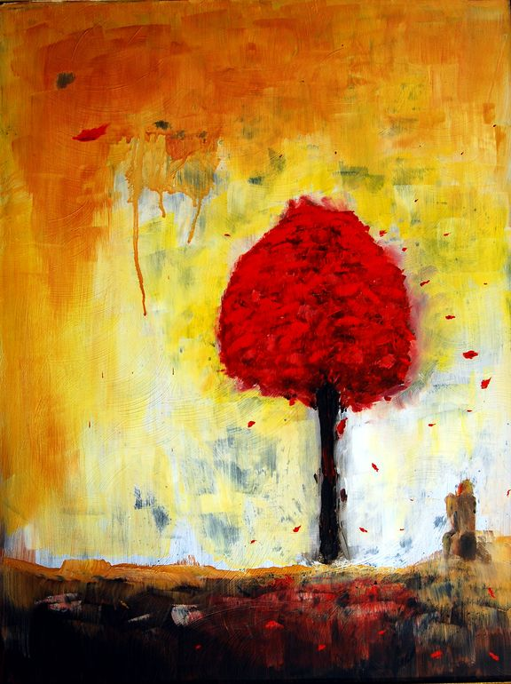 Red tree | Joseph Reicherts | 2012