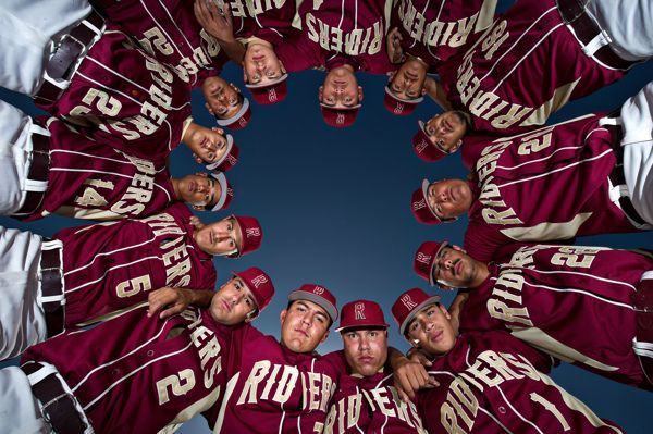 Roosevelt High School Baseball Portraits by Eddie Ruvalcaba, via Behance